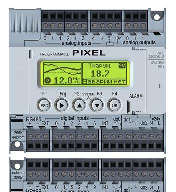 Pixel segnetics